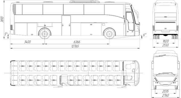 """Автобус """"НЕФАЗ-52999-0000010"""""""
